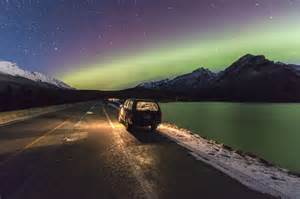 how do the northern lights work seeing the northern lights borealis in banff