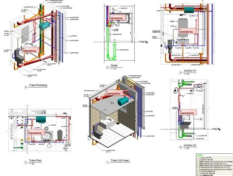 Full House Floor Plan revitcity com image gallery revit toilet detail