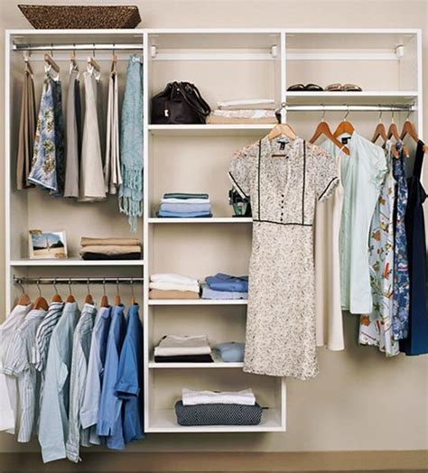simple closet design for inexpensive closet systems