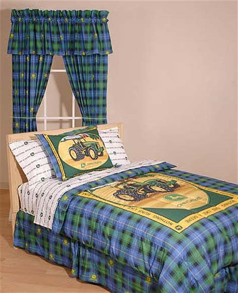 john deere bedding set john deere bedding 5 piece set in full and queen sizes
