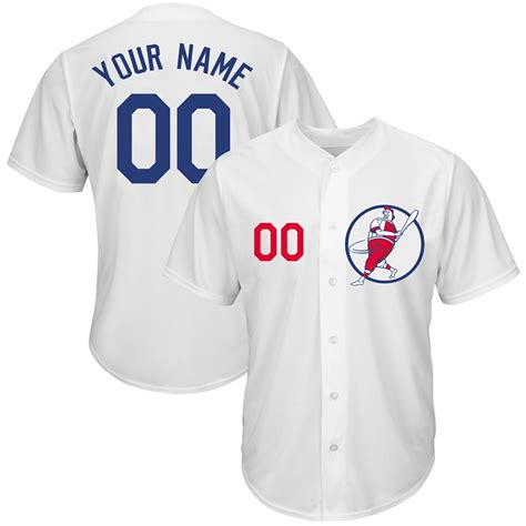 design jersey custom new dodgers white men s customized new design jersey cheap