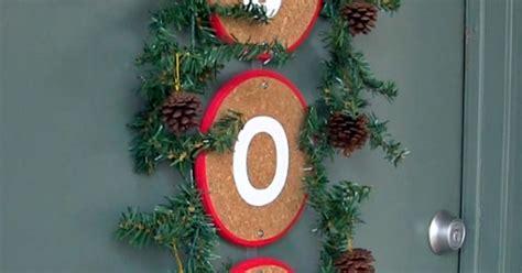 hometalk diy christmas window decoration diy front door christmas decoration alternative to a