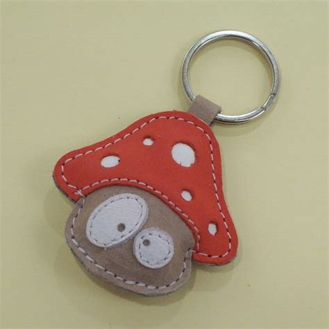 Handmade Keychain - handmade leather keychain free shipping on