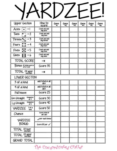 yahtzee score pad template yahtzee score sheets template farkle best 20
