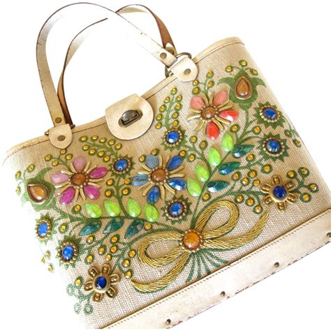 Be D Locket Purse by Enid Collins Of Collins Of Bokay Tote Purse