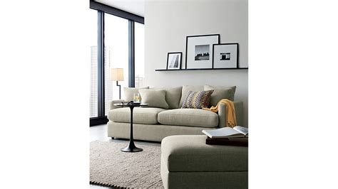 Crate And Barrel Lounge by Lounge Ii 83 Quot Sofa Crate And Barrel