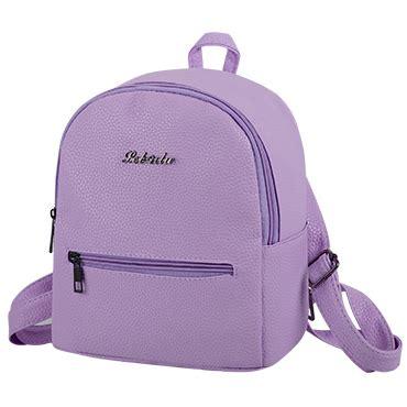 Tas Ransel Wanita Solid Purple Amvqmq tas ransel wanita solid purple jakartanotebook