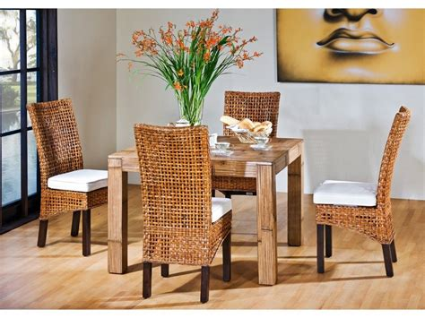 wicker back dining room chairs high back wicker dining chairs home design ideas