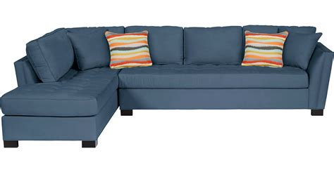 Cindy Crawford Dining Room Sets 1 488 00 Calvin Heights Xl Indigo 2 Pc Sectional