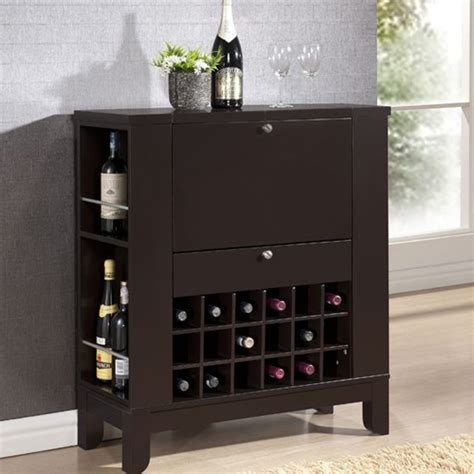 Contemporary Bar Cabinet Pretty Contemporary Bar Cabinet On Modesto Brown Modern Bar And Wine Cabinet Contemporary
