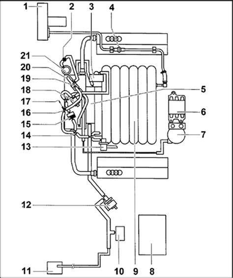 vw 2 0 breather hose location get free image about