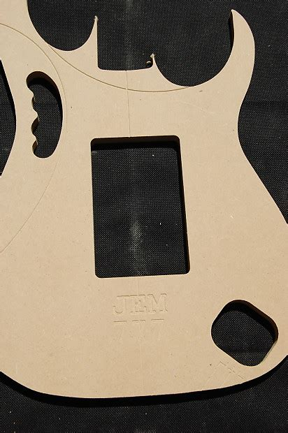 jem 777 guitar router template set 1 2 quot mdf cnc