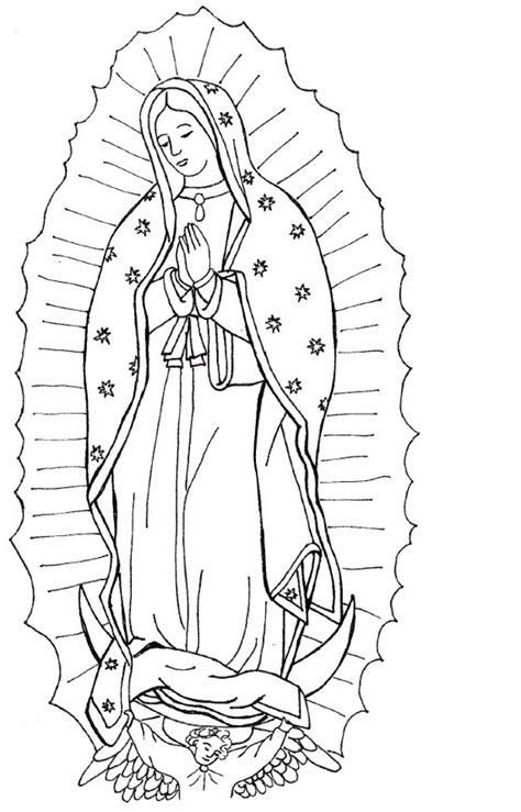 immaculate conception coloring pages 05 catechism