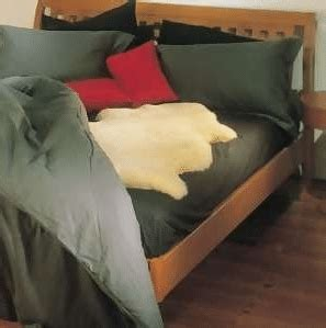sheepskin comforter sheepskin bedding snugrugs