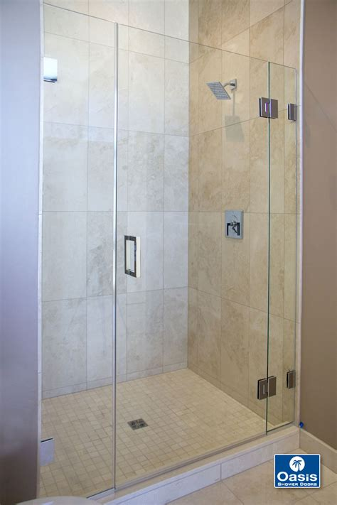 bathroom with glass doors frameless glass shower spray panel oasis shower doors ma