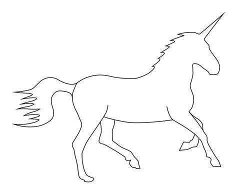 Unicorn Outline by Quot Unicorn Outline Quot Photographic Prints By Lucid Reality Redbubble