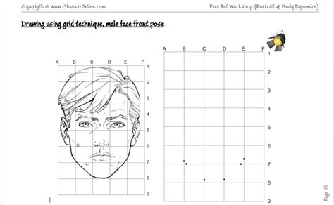Drawing Printable Worksheets by 7 Best Images Of Worksheets Grid Drawing Portraits Grid