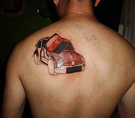 car logo tattoo s