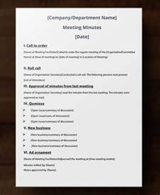 Writing Minutes Template by Best Meeting Minutes Template 15 Free Word Pdf