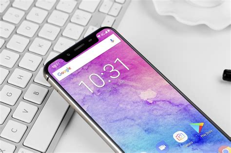 the 1st delivered iphone x clone oukitel u18 will soon get a 4gb 64gb gold version gizmochina