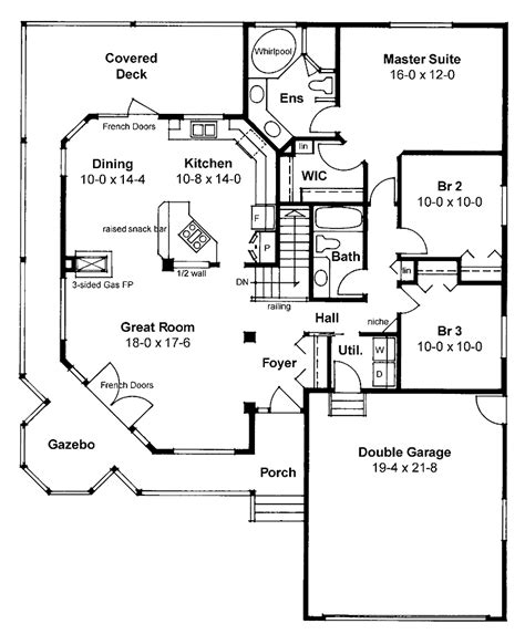 House With Wrap Around Porch Floor Plan by 301 Moved Permanently