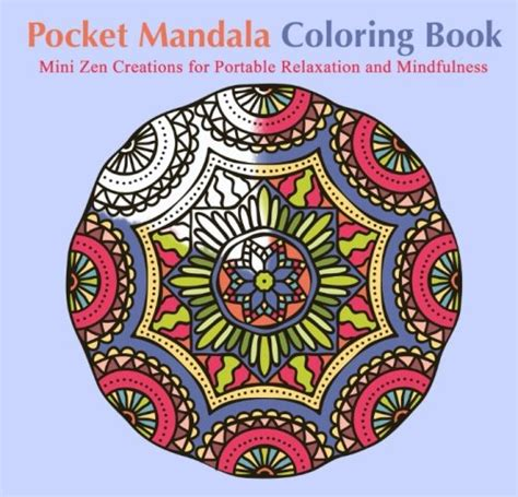 mandala coloring book price pocket mandala coloring book mini zen creations for
