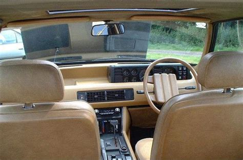 Rover Sd1 Interior by Balloonfish Stuff About Cars Every Friday Page 5