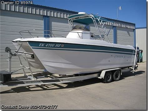 bay boats for sale by owner texas 1998 glacier bay canyon runner pontooncats