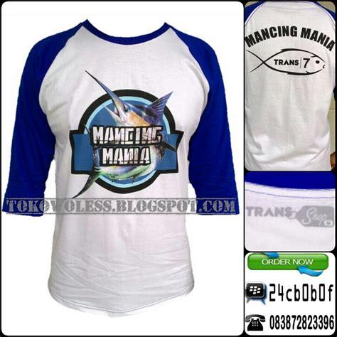 Kaos Sharks Sportswear kaos mancing mania trans7 rp 75 000 jejak petualang empat