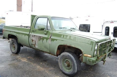 car and truck talk missouri to use military acoustic weapon to 1987 chevrolet chevy k30 k3500 4x4 military army truck