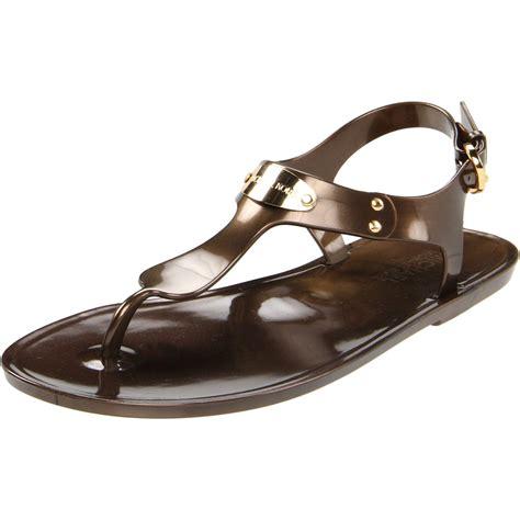 jelly sandals womens michael michael kors michael michael kors womens plate