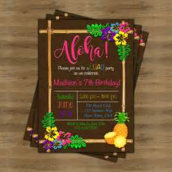 17 best ideas about luau birthday invitations on hawaiian invitations luau