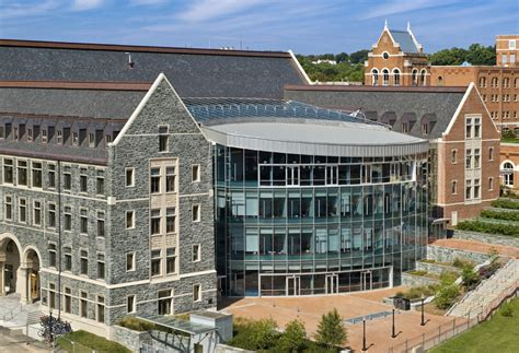 Georgetown Mba Admissions by Rafik B Hariri Building Mcdonough School Of Business