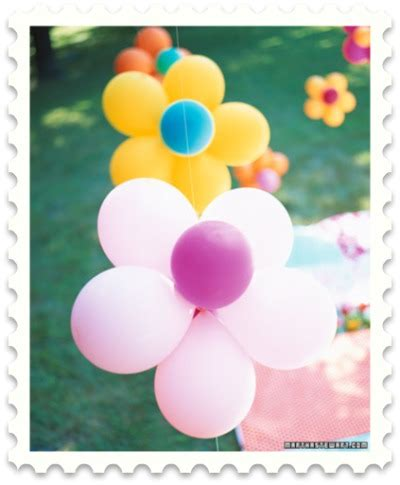 Gamis Flowery Balon martha stewart baby shower ideas to inspire you