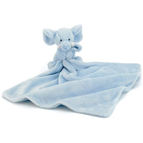 jellycat bashful blue elly soother plushpaws co uk