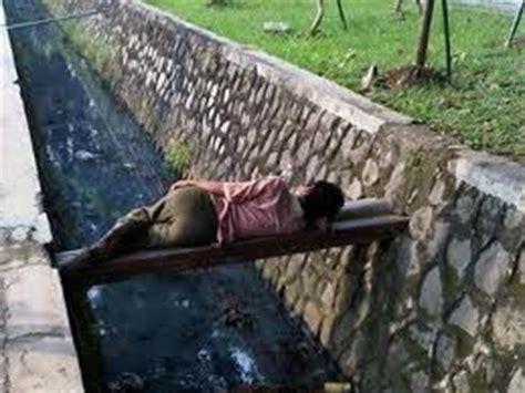 foto lucu  tidur unik  lucu