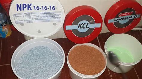 bahan membuat nutrisi hidroponik membuat nutrisi hidroponik ab mix sendiri menggunakan