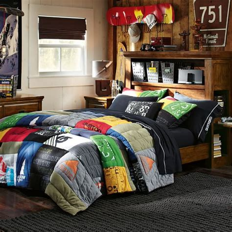 bedroom sets brton burton tee quilt sham pbteen