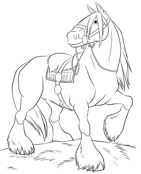 free coloring pages of girl in pony trap free printable horse coloring pages for kids