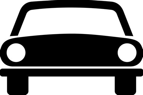 Auto Zeichen by File Italian Traffic Sign Car Svg Wikimedia Commons