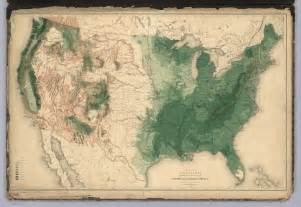 america forest map history of american forests tree maps made for 1884 census