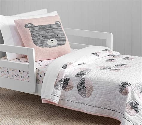 Quilted Toddler Bedding by Organic Yvette Quilted Toddler Bedding Pottery Barn