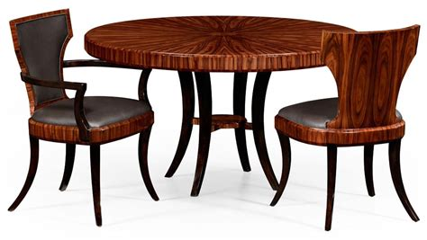 bench and tables round dining table with santos rosewood table