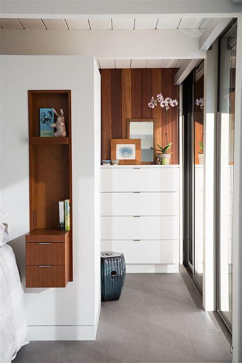 eichler homes from niche to mainstream white and mahogany palette revitalizes 1962 eichler home