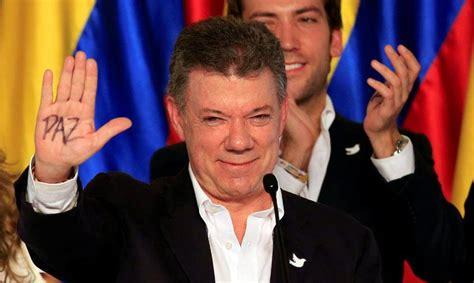 presidente de colombia 2016 el presidente de colombia gana el premio nobel de la paz