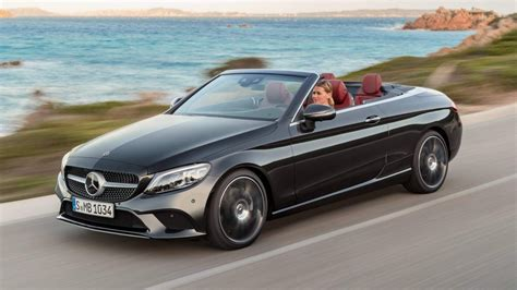 Mercedes Coupe Convertible by 2019 Mercedes C Class Coupe And Cabriolet Unveiled