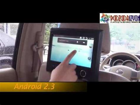 9 inch android 2.3 araç koltuk başlığı multimedia tablet