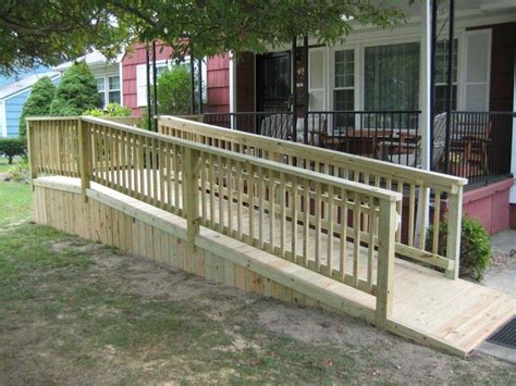 How To Build A Handrail For Outdoor Steps Best 25 Wheelchair Ramp Ideas On Pinterest Ramps For