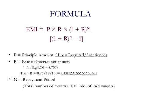 emi housing loan calculator home loan calculator excel formula excel formula to calculate tenure in years and