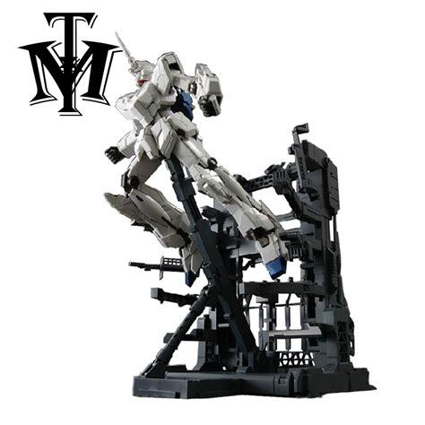 Hanger Anime Gundam Rx78 anime daban rx 0 unicorn gundam mg 1 100 hangar figure model juguetes destroy mode